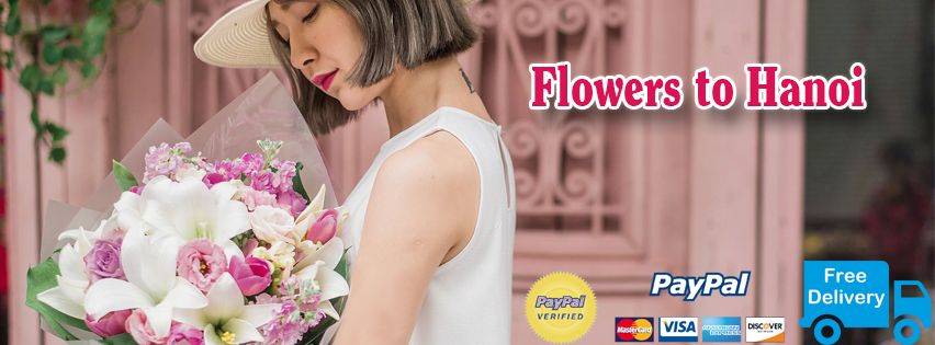 Flowers delivery online to Hanoi