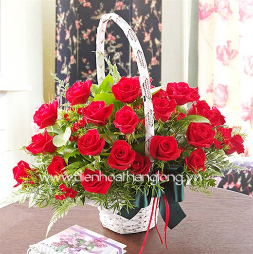 order flowers online to your lover in Hanoi